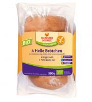 Bio 4 Helle Brötchen - glutenfrei