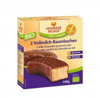 Bio 2 Vollmilch-Baumkuchen - glutenfrei