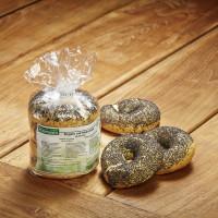 Bagels mit Mohnsaat - glutenfrei