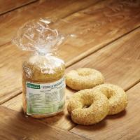 Bagels mit Sesamsaat - glutenfrei