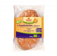 Bio 4 Toastbrötchen - glutenfrei