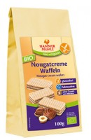 Bio Nougatcreme Waffeln - glutenfrei