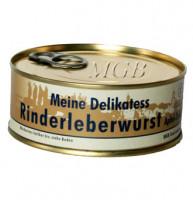 Delikatess-Rinderleberwurst Apfel-Zwiebel - glutenfrei