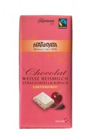 Schokolade weiße Stracciatella-Kirsch - glutenfrei