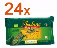 Sparpaket 24 x Le Asolane Penne Rigate Bio - glutenfrei