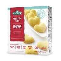Shortbread Herzen - glutenfrei