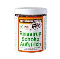 Reissirup Aufstrich nach Schokoart - glutenfrei
