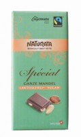 Schokolade Special Ganze Mandel laktosefrei - glutenfrei