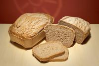Bio Bauernbrot frisch gebacken - glutenfrei