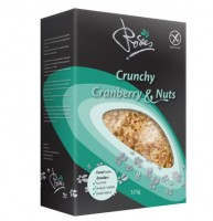 Cranberry-Nuss Crunchy Müsli - glutenfrei