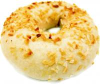 Bagel mit Zwiebel - glutenfrei