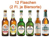 Glutenfreies Bier Paket 6 x 2 Flaschen - glutenfrei