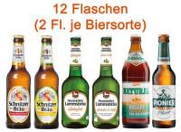 Glutenfreies Bier Mischpaket 6 x 2 Flaschen - glutenfrei