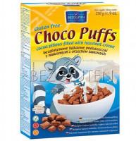 Choco Puffs Kakaopuffer mit Haselnussfüllung - glutenfrei