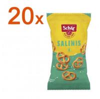 Sparpaket 20 x Salinis Salzbrezeln - glutenfrei