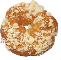 Oster Kränzle Dekor: Streusel, frisch gebacken - glutenfrei