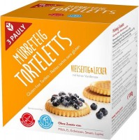 Mürbeteig Torteletts - glutenfrei