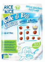 Reisbällchen Cacao ohne Zuckerzusatz - glutenfrei