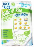 Reisbällchen Natur ohne Zuckerzusatz - glutenfrei