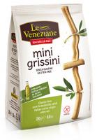 Le Veneziane Mini Grissini mit Olivenöl - glutenfrei