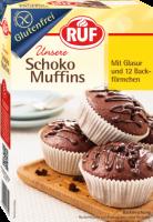 Schoko Muffins Backmischung - glutenfrei