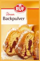 Backpulver - glutenfrei