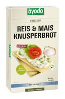 Reis & Mais Knusperbrot mit Meersalz - glutenfrei