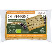 Bio Olivenbrot - glutenfrei