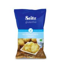 Bio Kesselchips mit Meersalz - glutenfrei
