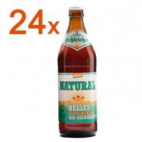 Natural Helles glutenfreies Bio Bier 24 Fl. - glutenfrei