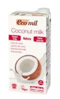 Kokosmilch Nature zuckerfrei - glutenfrei