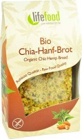 Bio Chia-Hanf Brot - glutenfrei