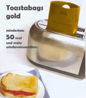 Toastabags gold 2 Stück, 50x wiederverwendbar - glutenfrei