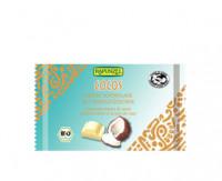 Weisse Cristallino Schokolade mit Kokosstückchen - glutenfrei