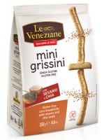 Le Veneziane Mini Grissini mit Sesam und Chia - glutenfrei