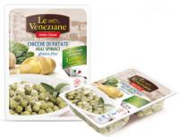 Le Veneziane Potato Kartoffel Gnocchi mit Spinat - glutenfrei