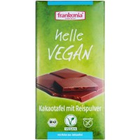 Kakaotafel Helle Vegan - glutenfrei