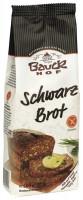 Schwarzbrot Backmischung - glutenfrei