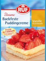 Backfeste Puddingcreme Vanille - glutenfrei