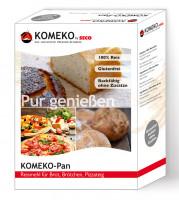 Pan Reismehl für Brot, Brötchen, Pizzateig - glutenfrei
