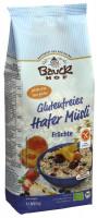 Glutenfreies Hafermüsli Früchte - glutenfrei