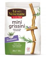 Le Veneziane Mini Grissini Rosmarin - glutenfrei