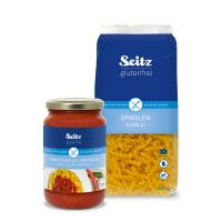 Set Spiralen + Tomatensauce Arrabiata - glutenfrei