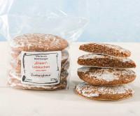Glutenfreie Elisen-Lebkuchen mit Zuckerglasur - glutenfrei