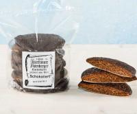 Glutenfreie Elisen-Lebkuchen schokoliert - glutenfrei