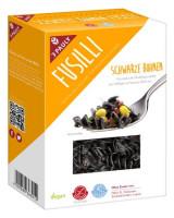 Fusilli Schwarze Bohnen Nudeln - glutenfrei