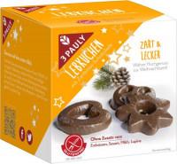 Glutenfreie Lebkuchen mit Zartbitter-Schokolade - glutenfrei