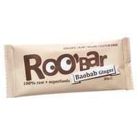 Riegel Baobab & Ginger - glutenfrei