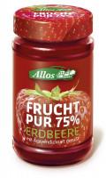 Bio Frucht Pur Erdbeere - glutenfrei