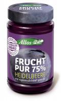Bio Frucht Pur Heidelbeere - glutenfrei